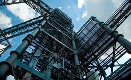 βιομηχανική νεώτερη ζώνη καθαρισμού πετρελαίου εξοπλισμού Στοκ Εικόνες