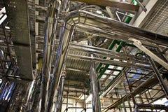 βιομηχανική νεώτερη ζώνη καθαρισμού πετρελαίου εξοπλισμού Στοκ φωτογραφίες με δικαίωμα ελεύθερης χρήσης