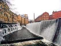 βιομηχανική νεώτερη ζώνη καθαρισμού πετρελαίου εξοπλισμού Στοκ Φωτογραφίες