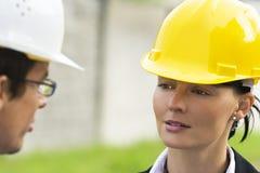 βιομηχανική ομαδική εργ&alpha Στοκ εικόνα με δικαίωμα ελεύθερης χρήσης