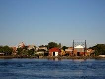 Βιομηχανική περιοχή σε NYC Στοκ Εικόνες