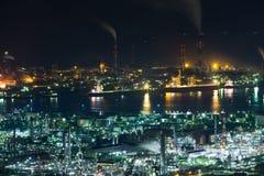 Βιομηχανική περιοχή στην Ιαπωνία Στοκ φωτογραφία με δικαίωμα ελεύθερης χρήσης