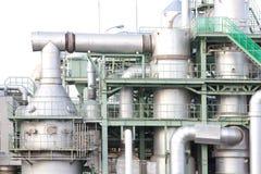 Βιομηχανική περιοχή της χημικής βιομηχανίας Στοκ φωτογραφία με δικαίωμα ελεύθερης χρήσης