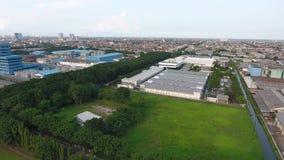 Βιομηχανική περιοχή του Surabaya rungkut απόθεμα βίντεο
