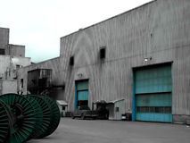 βιομηχανική περιοχή Στοκ εικόνες με δικαίωμα ελεύθερης χρήσης