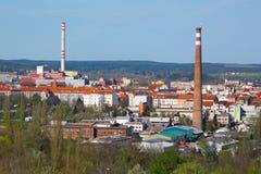 Βιομηχανική περιοχή Στοκ Φωτογραφίες