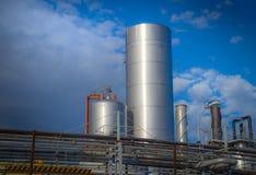 Βιομηχανική περιοχή Στοκ εικόνα με δικαίωμα ελεύθερης χρήσης