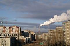 Βιομηχανική περιοχή Στοκ Εικόνες