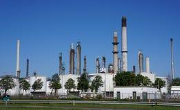 Βιομηχανική περιοχή Botlek, Ρότερνταμ, οι Κάτω Χώρες Στοκ Εικόνες