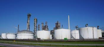 Βιομηχανική περιοχή Botlek, Ρότερνταμ, οι Κάτω Χώρες Στοκ Εικόνα
