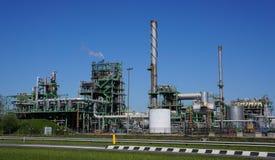 Βιομηχανική περιοχή Botlek, Ρότερνταμ, οι Κάτω Χώρες Στοκ Φωτογραφία