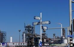 Βιομηχανική περιοχή Botlek, Ρότερνταμ, οι Κάτω Χώρες Στοκ φωτογραφίες με δικαίωμα ελεύθερης χρήσης