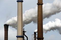 βιομηχανική ρύπανση αέρα Στοκ φωτογραφία με δικαίωμα ελεύθερης χρήσης