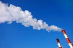 βιομηχανική ρύπανση Στοκ Εικόνα