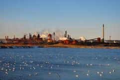 Βιομηχανική ρύπανση Στοκ φωτογραφία με δικαίωμα ελεύθερης χρήσης