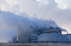 βιομηχανική ρύπανση Στοκ Φωτογραφίες