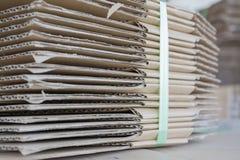 βιομηχανική στοίβα εγγρά&phi Στοκ Εικόνες
