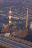 Βιομηχανική στοίβα καπνού Στοκ φωτογραφίες με δικαίωμα ελεύθερης χρήσης