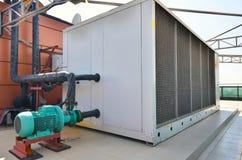 Βιομηχανική συσκευή κλιματισμού Στοκ Φωτογραφία