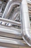 βιομηχανική σωλήνωση Στοκ εικόνα με δικαίωμα ελεύθερης χρήσης