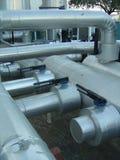 βιομηχανικοί σωλήνες Στοκ Εικόνα