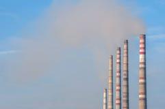 Βιομηχανικοί σωλήνες Στοκ εικόνα με δικαίωμα ελεύθερης χρήσης