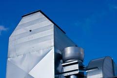 βιομηχανικός εξαερισμός στεγών Στοκ φωτογραφία με δικαίωμα ελεύθερης χρήσης