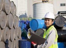 Βιομηχανικός εργάτης στοκ εικόνα
