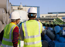 Βιομηχανικός εργάτης Στοκ φωτογραφίες με δικαίωμα ελεύθερης χρήσης