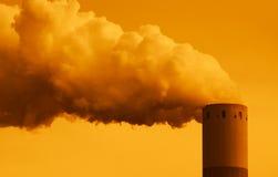 βιομηχανικός καπνός Στοκ Φωτογραφίες