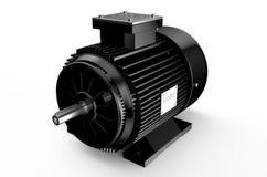 Βιομηχανικός μαύρος ηλεκτρικός κινητήρας ελεύθερη απεικόνιση δικαιώματος