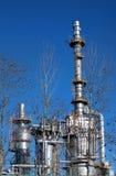 βιομηχανικός μεγάλος χάλυβας κτημάτων κατασκευής στοκ φωτογραφία