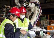 Βιομηχανικός μηχανικός Στοκ φωτογραφίες με δικαίωμα ελεύθερης χρήσης