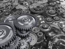 Βιομηχανικός μηχανισμός διανυσματική απεικόνιση