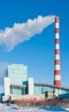 βιομηχανικός σταθμός παρ&alp Στοκ Εικόνα