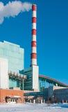 βιομηχανικός σταθμός παρ&alp Στοκ φωτογραφία με δικαίωμα ελεύθερης χρήσης