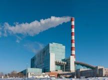 βιομηχανικός σταθμός παρ&alp Στοκ φωτογραφίες με δικαίωμα ελεύθερης χρήσης