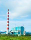 βιομηχανικός σταθμός παρ&alph Στοκ φωτογραφίες με δικαίωμα ελεύθερης χρήσης