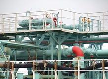 Βιομηχανικός τερματικός σταθμός πετρελαίου στοκ εικόνες με δικαίωμα ελεύθερης χρήσης