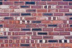 βιομηχανικός τοίχος τούβ&l Στοκ φωτογραφία με δικαίωμα ελεύθερης χρήσης