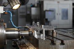 βιομηχανικός τόρνος Στοκ εικόνα με δικαίωμα ελεύθερης χρήσης