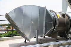 Βιομηχανικός τύπος ανεμιστήρων αέρα Στοκ φωτογραφίες με δικαίωμα ελεύθερης χρήσης