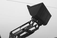 Βιομηχανικός φορτωτής κάδων Στοκ φωτογραφία με δικαίωμα ελεύθερης χρήσης
