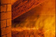 Βιομηχανικός φούρνος Στοκ Φωτογραφίες