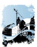 βιομηχανικός χειμώνας πε&rh ελεύθερη απεικόνιση δικαιώματος
