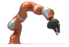 Βιομηχανικός χειριστής ρομπότ διανυσματική απεικόνιση