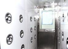 Βιομηχανικό αποστειρωμένο δωμάτιο Στοκ εικόνες με δικαίωμα ελεύθερης χρήσης