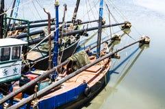 Βιομηχανικό αλιευτικό σκάφος στοκ εικόνες