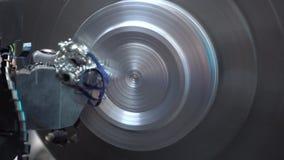 Βιομηχανικό εργαστήριο και βιομηχανικά προϊόντα, εργαζόμενοι απόθεμα βίντεο