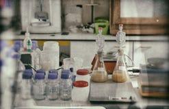 Βιομηχανικό εργαστήριο Στοκ εικόνα με δικαίωμα ελεύθερης χρήσης